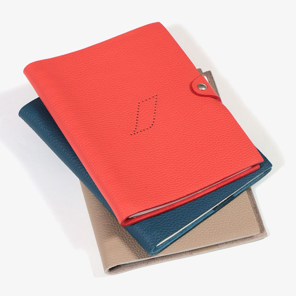 Leather Notebook — Air France