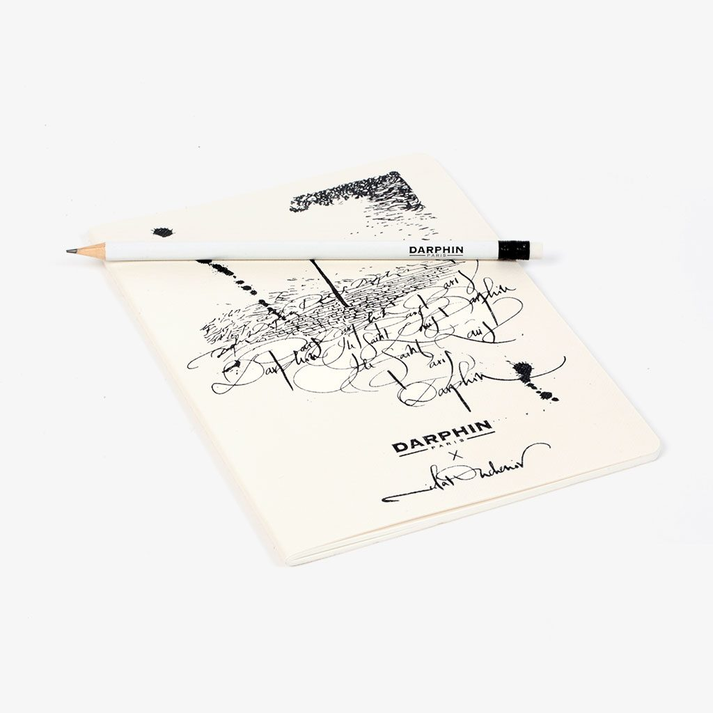 Notebook & Pencil — Darphin