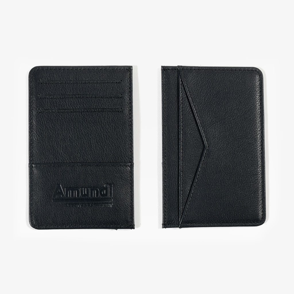 Leather Business Card Holder — Amundi