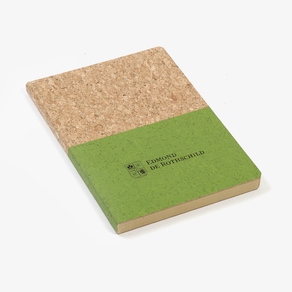 Cork Cover Notebook — Edmond de Rothschild