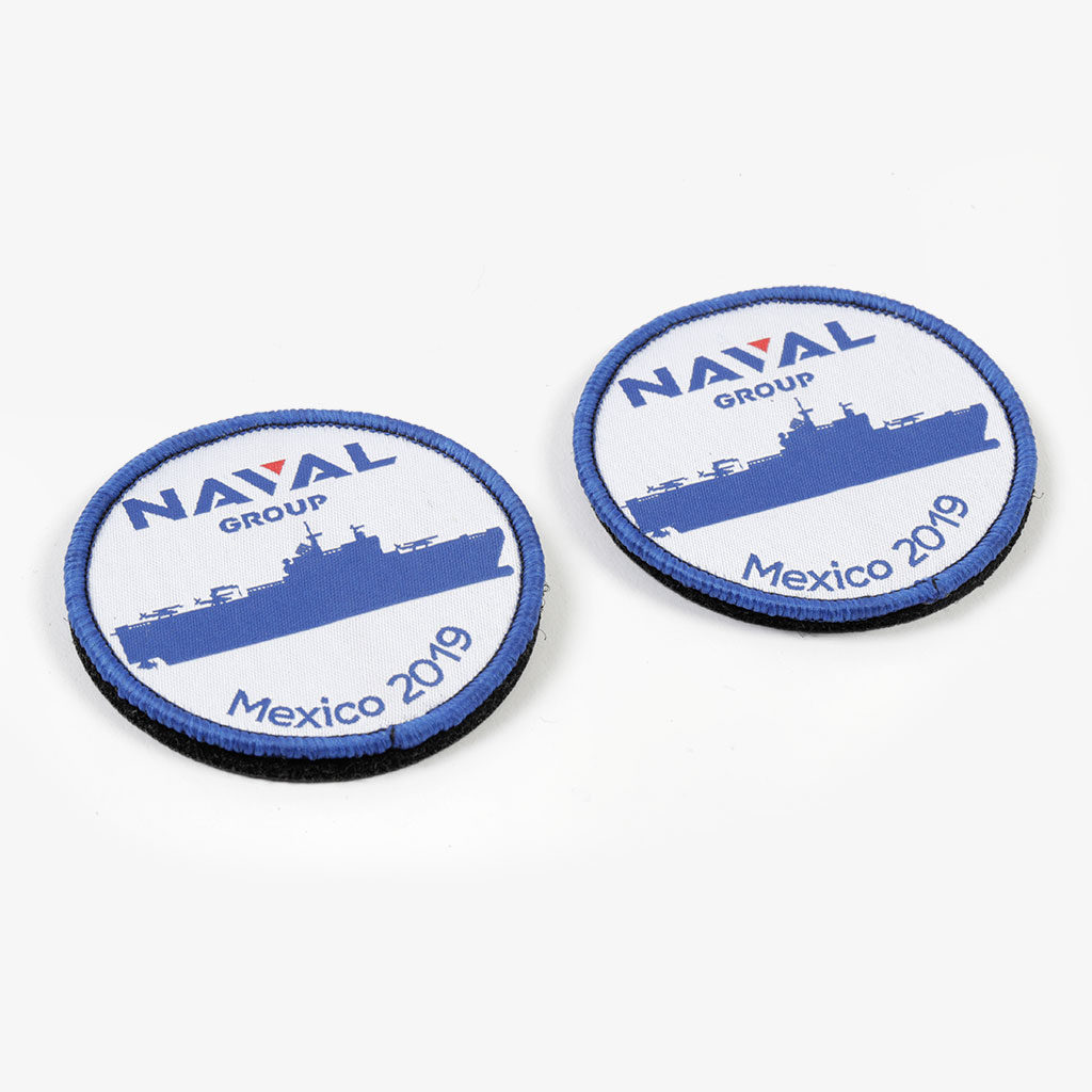 Woven Patch — Naval Group