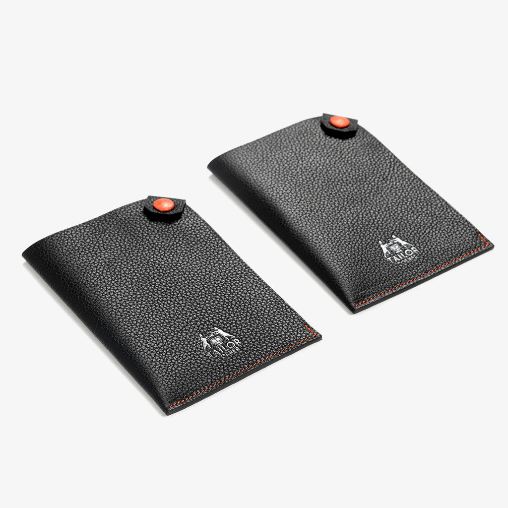 Passport Protector with Top Snap Closure — Tailor Corner